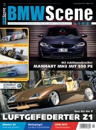 BMW SCENE Magazin