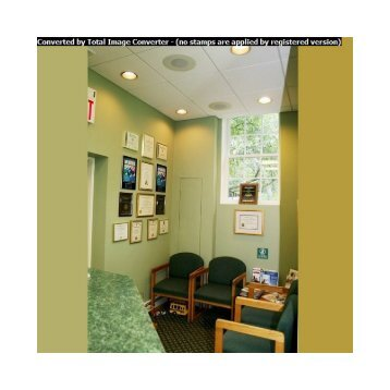 Waiting area at Cazes Family Dentistry, LLC