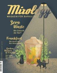 Mixology - Magazin für Barkultur 5-17