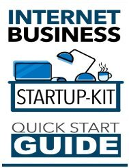 Internet Business Startup Kit - Quick Start Guide