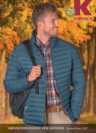 Kimmich Mode-Versand | Größenspezialist für Männermode | Herbst Winter 2017
