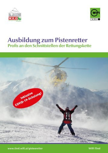 Ausbildung Pistenrettung Tirol