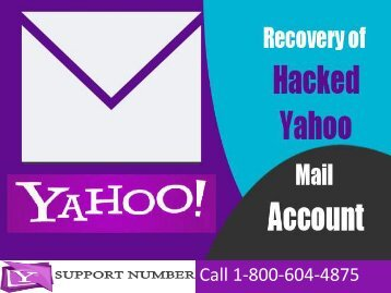 1-800-604-4875 How to Recover Hacked Yahoo Mail Account