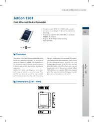 Fast Ethernet Media Converter JetCon 1501 - MAXIWYZE