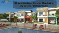 3D Architectural Exterior Rendering | 3D Exterior Design Studio