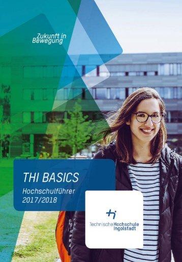THI Basics Hochschulführer2017/2018