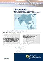 Asien-Desk - Raiffeisen