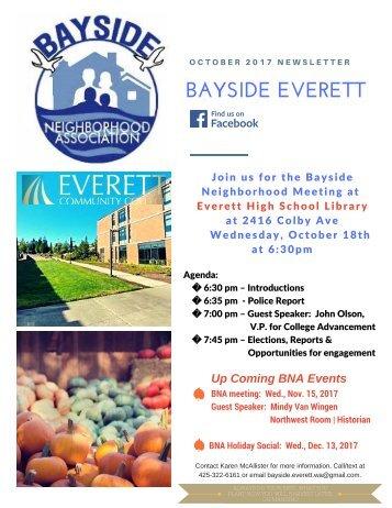 October 2017 Bayside Everett News