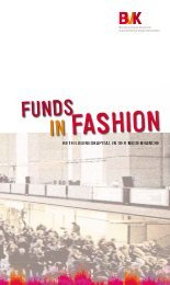 Funds in Fashion - Beteiligungskapital in der Modebranche