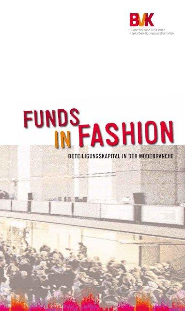 Funds in Fashion - Beteiligungskapital in der Modebranche