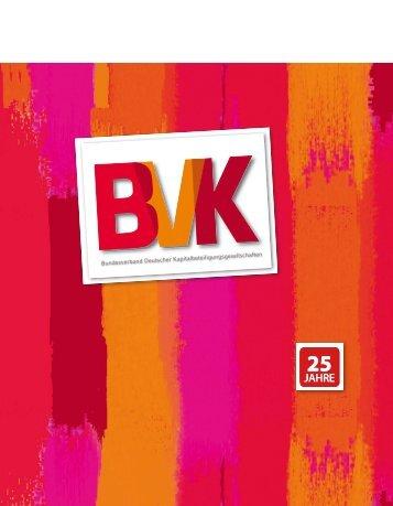 Jubiläumsschrift - 25 Jahre BVK