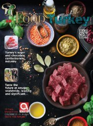 Food Turkey Magazine October 2017