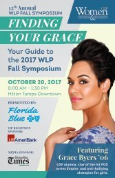 12 Annual WLP Fall Symposium Guide to Success