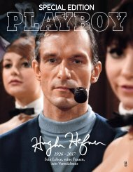 Leseprobe Playboy Special Edition Hugh Hefner