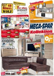 SB-Möbel Wolf - Mega-Spar-Kollektion