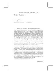 Review Article - College of Arts & Sciences - The University of ...