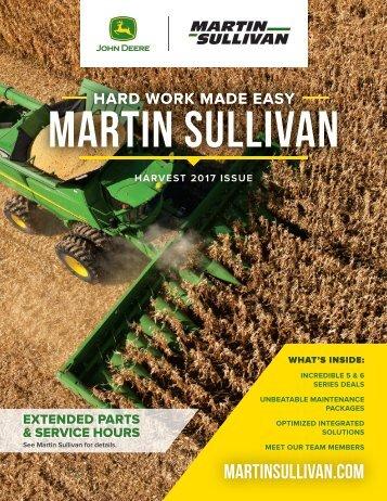 Martin Sullivan Harvest 2017 Catalog