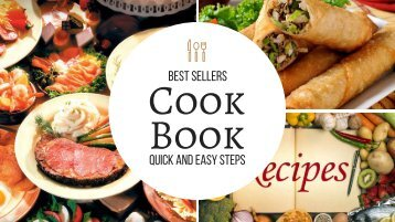 Cook Book Best Sellers 2017