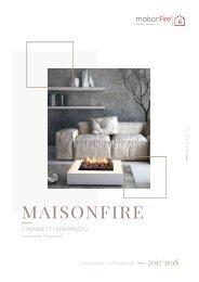 MAISON FIRE Catálogo 2017-2018