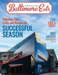Baltimore Eats Magazine_First Edition