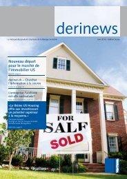 Nouveau départ pour le marché de l'immobilier US - Raiffeisen