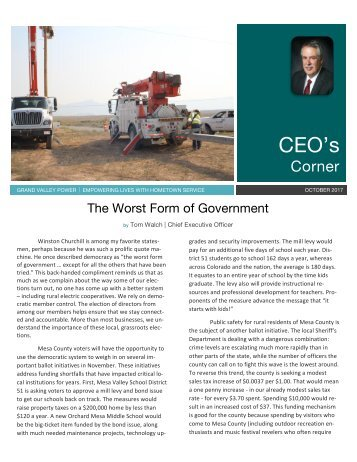 Oct 2017_CEO newsletter