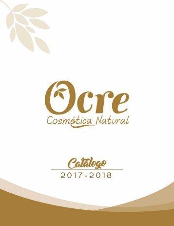 CATÁLOGO OCRE 2017/18