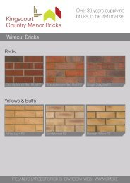 Kingscourt Country Manor Bricks 2014