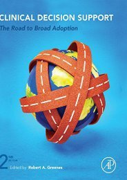 Read [PDF] Clinical Decision Support, Second Edition: The Road to Broad Adoption Full page online