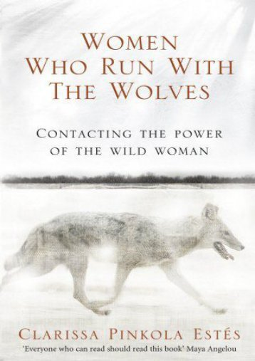 Download [PDF] Women Who Run with the Wolves Full eBook online