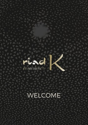 RIAD K Welcome