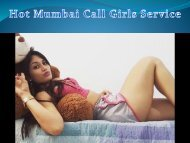Affordable Mumbai Call Girls Service in Luxury Hotel