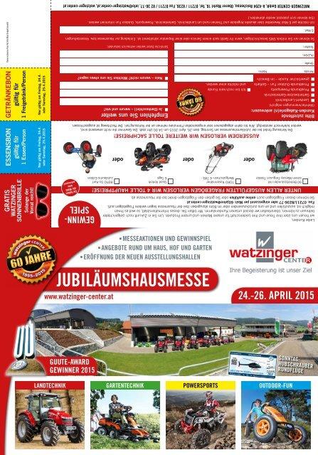 Kundenzeitung April 2015