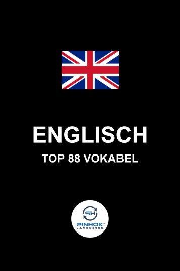 Englisch Top 88 Vokabel