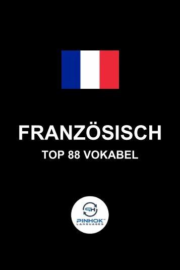 Franzoesisch Top 88 Vokabel