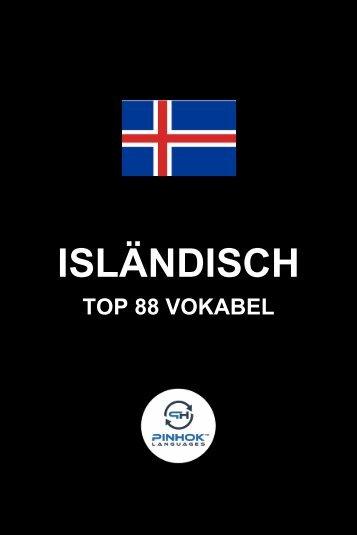 Islaendisch Top 88 Vokabel