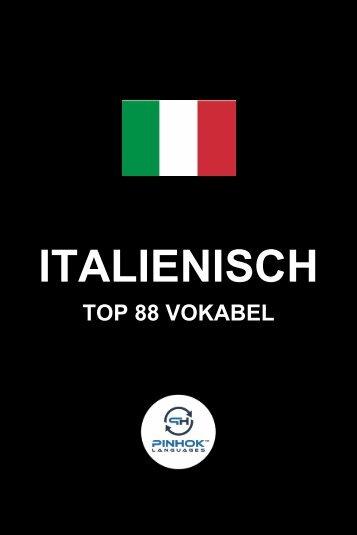 Italienisch Top 88 Vokabel