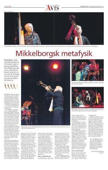 PALLE MIKKELBORG - 2012