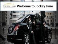 Welcome to Jockey Limo