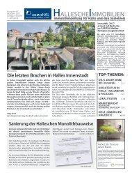 Hallesche-Immobilienzeitung-Ausgabe  67, Oktober 2017