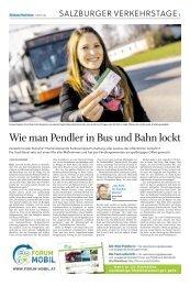 15. Salzburger Verkehrstage - SN-Beilage