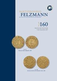 Auktion160-01-Numismatik_Cover