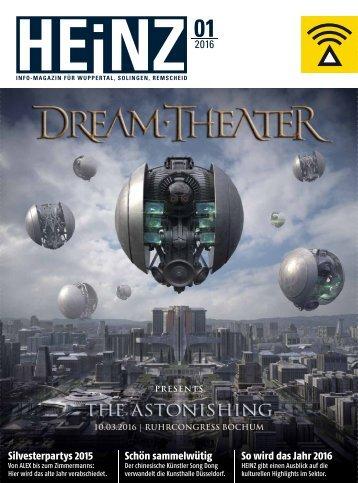 HEINZ Magazin Wuppertal 01-2016