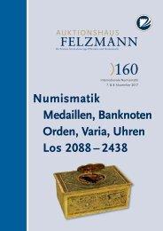 Auktion160-08-Numismatik_Medailen_Orden_Varia