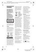 Sony DVP-SR160 - DVP-SR160 Mode d'emploi Serbe - Page 2