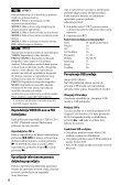 Sony DVP-SR160 - DVP-SR160 Mode d'emploi Serbe - Page 6