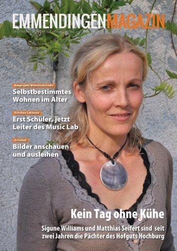 Emmendingen Magazin, Oktober 2017