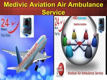 Medical Emergency Air and Train AMbulance Service in Ranchi
