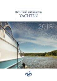 MYM - Ihr Urlaub auf unseren Yachten 2018