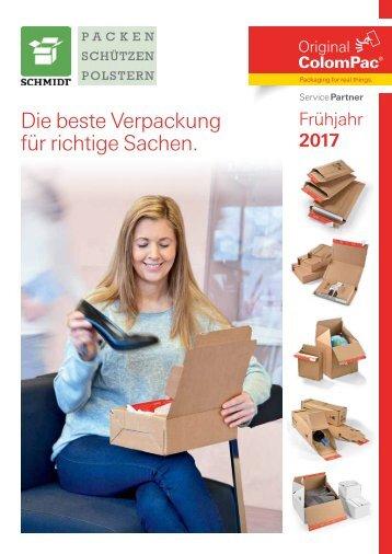Schmidt Verpackungen Faltschachteln ColomPac_SP_Katalog_2017